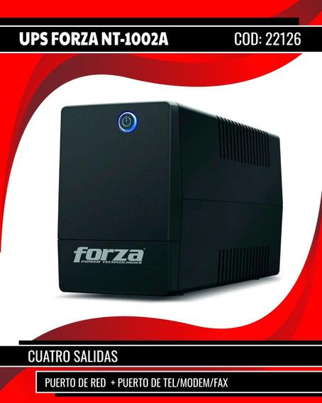 Ups Forza Interactiva 1000va/500w Nt-1002a Estabiliz.(22126)