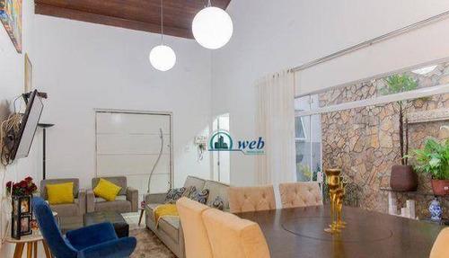 Imagem 1 de 30 de Casa Com 3 Dormitórios À Venda, 245 M² Por R$ 840.000,00 - Parque João Ramalho - Santo André/sp - Ca0261