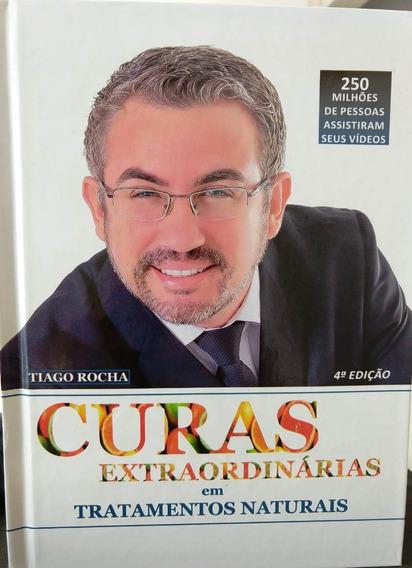 Palestrante Tiago Rocha Livro Curas Extraordinárias + Brinde