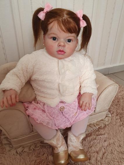 Bebe Reborn Pronta Entrega Corpo Tecido Molde Ariana