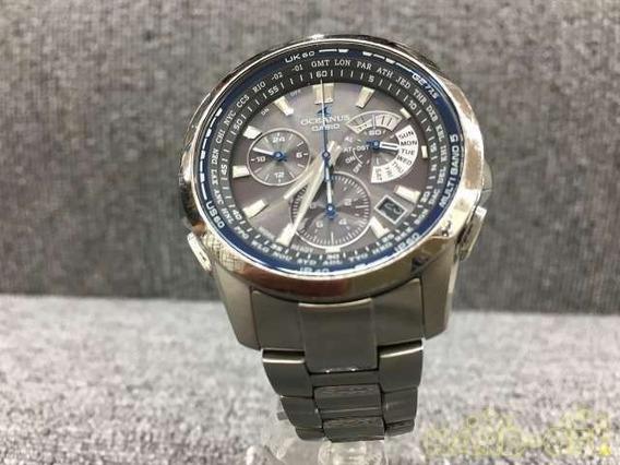 Relógio Casio Oceanus 4749 - Titanium Chronograph