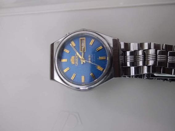 Relógio Orient Automático Azul