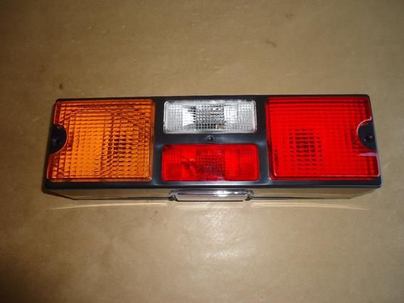 Lanterna Traseira Com Vigia Caminhao Tricolor Original Gf