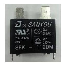 Rele Para Placa Ar Condicionado Split - Sanyou Sfk-112 20a