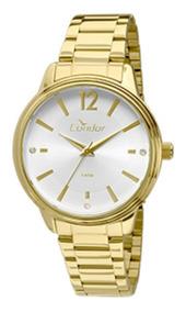 Relógio Condor Feminino Dourado Co2035kmh