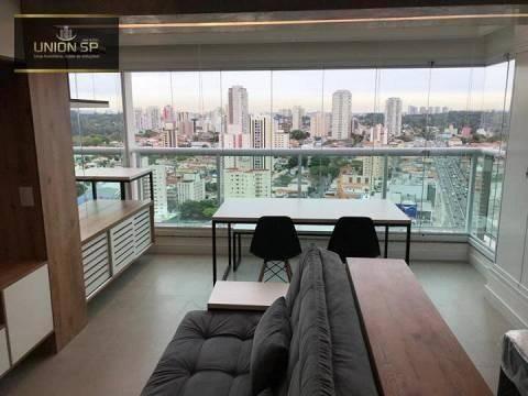 Studio Com 1 Dormitório À Venda, 34 M² Por R$ 450.000,00 - Campo Belo - São Paulo/sp - St1121