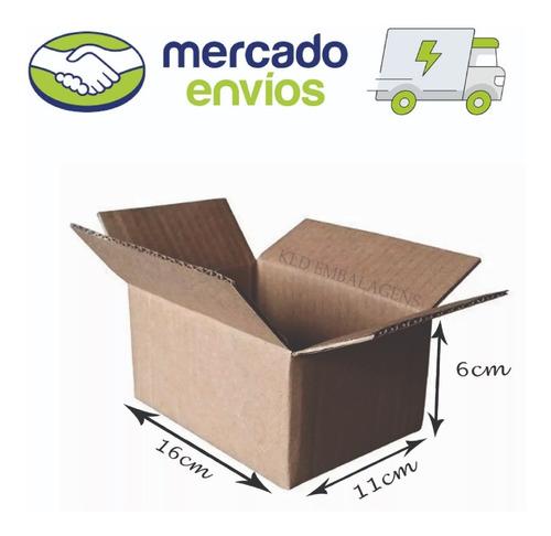 50 Caixas De Papelão 16x11x6 Loja De Fabrica