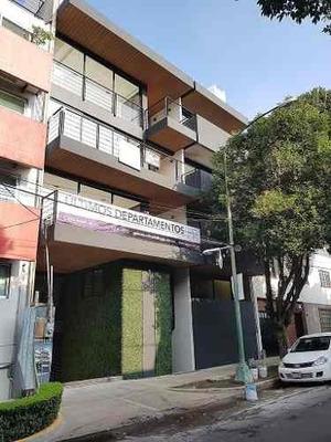 Departamento A Estrenar En Heriberto Frias, Col, Narvarte