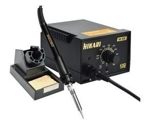 Hk936a - Estação De Solda Analógica Hikari (127v)