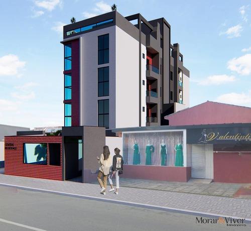 Imagem 1 de 15 de Cobertura Para Venda Em São José Dos Pinhais, Centro, 2 Dormitórios, 1 Suíte, 2 Banheiros, 1 Vaga - Sjp0035_1-1935104
