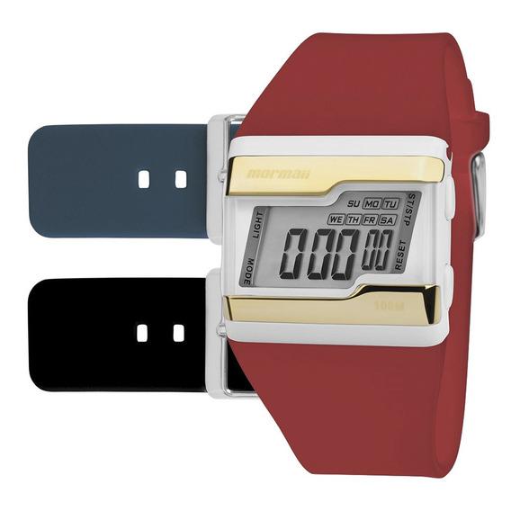 Relógio Digital Mormaii Troca Pulseira Fzvt8p