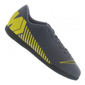 Tênis Nike Mercurial Vapor Club Futsal Infantil Chumbo