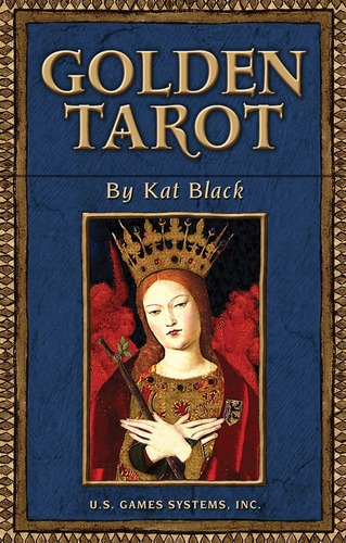 Golden Tarot, Este Tarot Esta En Ingles. Tarot Dorado