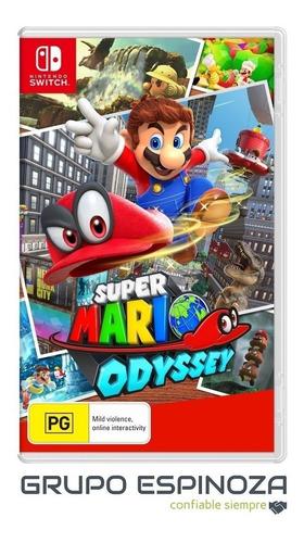 Super Mario Odyssey | Nuevo Sellado | Nintendo Switch