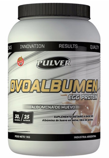 Ovoalbumen Egg Huevo 1 Kg Pulver Proteina Masa Muscular