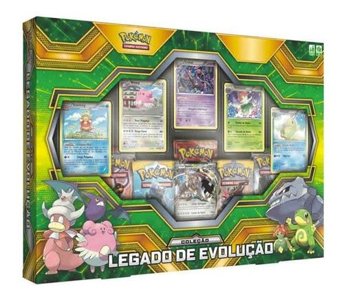 Pokémon Box Coleção Legado De Evolução - Copag