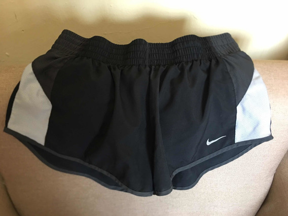 Nike Short Negro Original Mujer Tallam Nuevo Rmate Envgratis