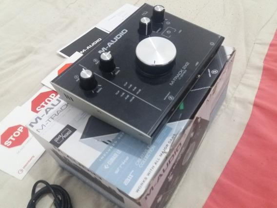 Interface De Áudio M Áudio M Track 2x2