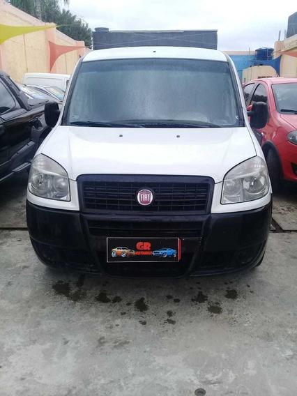 Fiat Doblo Cargo 2013 1.4 Flex 4p Com Direção + Ar Revestida