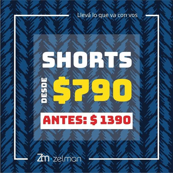 Shorts De Baño - Lisos Y Estampados