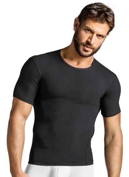 Leo Camiseta Deportiva De Compresión Deporte Hombre