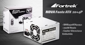 Fonte Atx 200w - 450w Fortrek