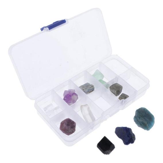 Muestra De Piedras Y Rocas Minerales Coleccionable