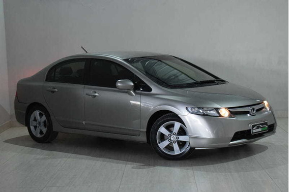 Honda Civic Lxs 1.8 Flex Mecanico 2007