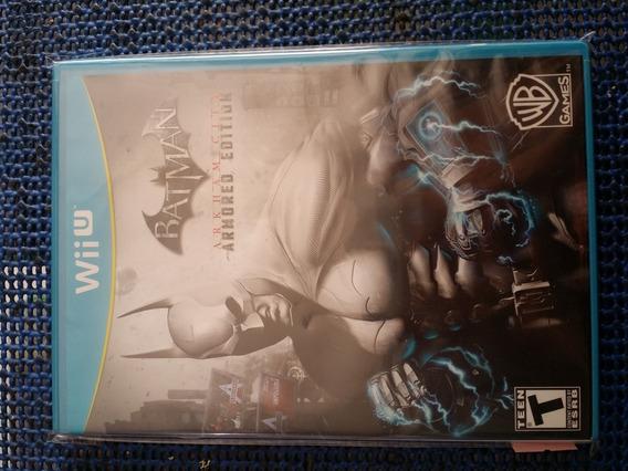 Batman Arkham City Armored Edition Wii U