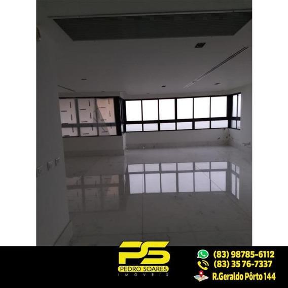 Cobertura Com 3 Dormitórios À Venda, 440 M² Por R$ 2.600.000 - Cabo Branco - João Pessoa/pb - Co0020