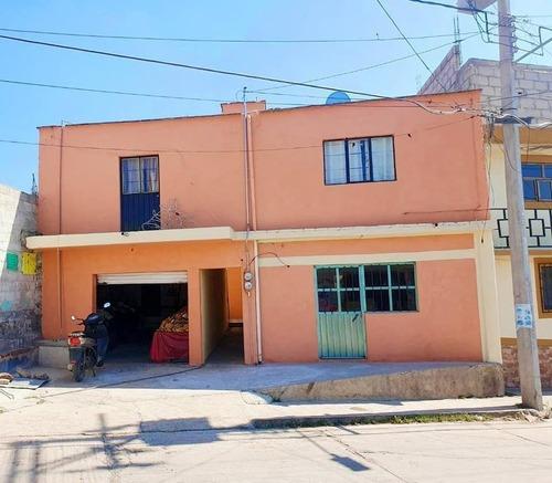 Casa Con Local En Venta En Apan Hidalgo.