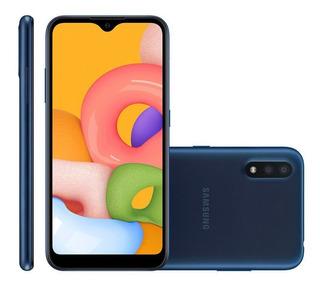Smartphone Samsung Galaxy A01, 13mp + 2mp, 32gb, Dual Chip