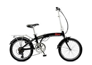 Olmo Pleggo Full Bicicleta Plegable Rod. 20 Con 7 Velocidad