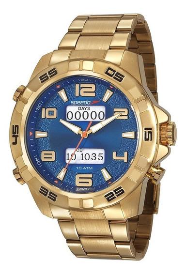 Relógio Speedo Anadigi Masculino Big Case 50mm 15002gpevds1
