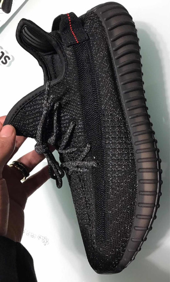 Yeezy Boost 350 V2 Black Refletive - Tam 43