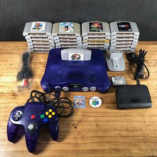 Nintendo 64 Sabores Uva Original C/ 25 Jogos 100% Originais!