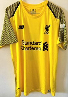 Camisa Do Liverpool 2018/19 Autografada Alisson Becker