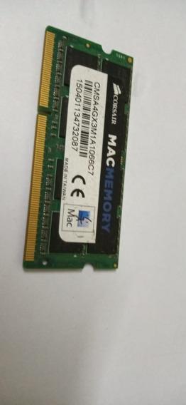 Memória Notebook Ddr3 - 4gb / 1.066mhz - Corsair Mac -
