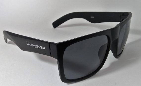 Óculos De Sol Quiksilver Square Quadrado Uv400 Grande Preta
