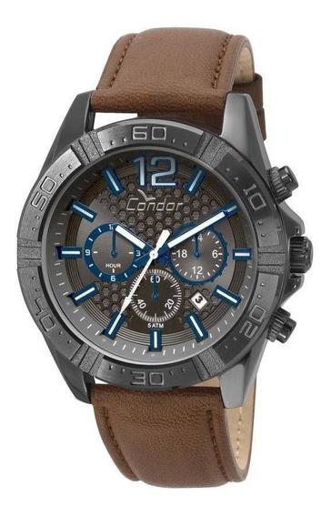 Relógio Covd33as/2p Condor Masculino Gradeados