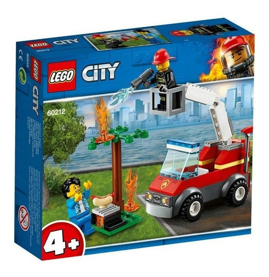 Lego 60212 Incendio En La Barbacoa