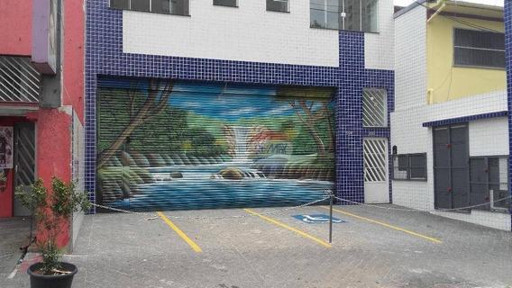 Salão Comercial, Loja, Bairro Pauliceia, São Bernardo Do Campo Sp,com Estacionamento, Frente, Quatro Vagas, Bom Comercio Local, Infra Estrutura Total, - Lo0021