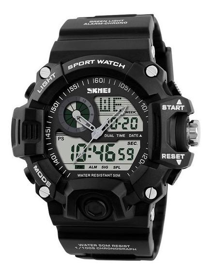 Relógio Masculino Sport Shock Militar Original Prova D