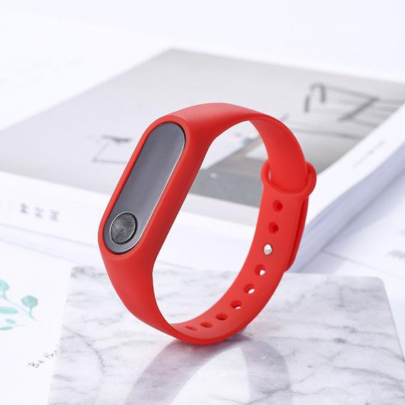 Unisex Moda Al Aire Libre Deportes Simples Rojo Led Reloj Di