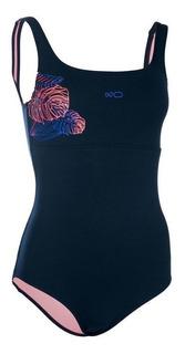 Traje De Baño Natacion Para Mujer Heva+azul 8512541 2