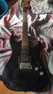 Guitarra Washburn Con Pedal Y Estuche