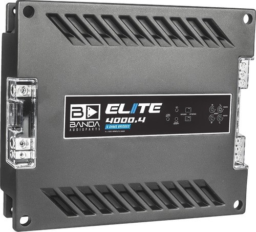Modulo Banda Elite 4000.4 4000 Rms 4 Canais Bridge 4 Ohms