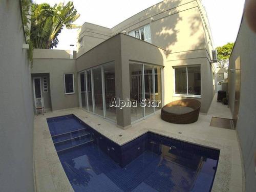 Casa Com 4 Dormitórios À Venda, 400 M² Por R$ 2.250.000,00 - Alphaville 05 - Santana De Parnaíba/sp - Ca3430