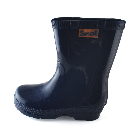 Bota Lluvia Small Shoes Azul