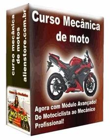 Curso Mecânica De Motos 20 Dvds - A61